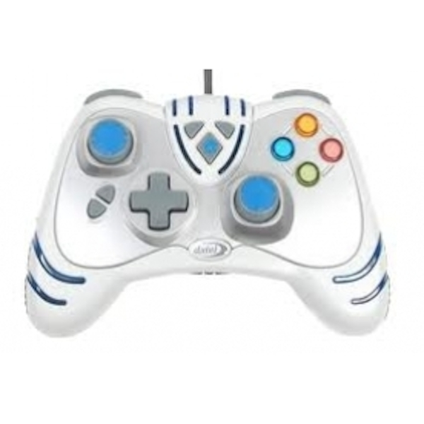 Ex-Display Datel Wired Wildfire 2 Controller White Xbox 360 Used - Like New - Image 2