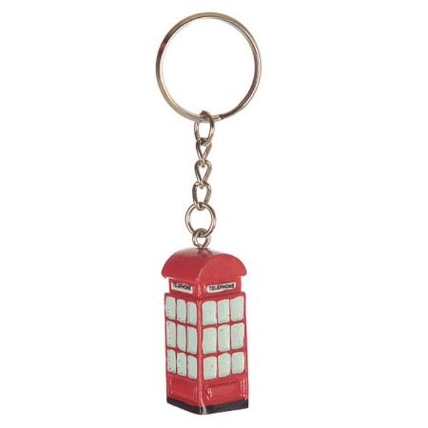 London Telephone Bus Keyring
