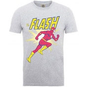 DC Comics Originals Flash Running Men's X-Large T-Shirt - Grey