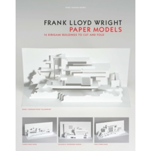 Frank Lloyd Wright Paper Models : 14 Kirigami Models to Cut and Fold