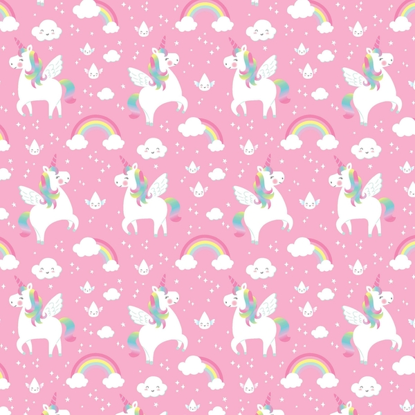 Sass & Belle Rainbow Unicorn Wrapping Paper
