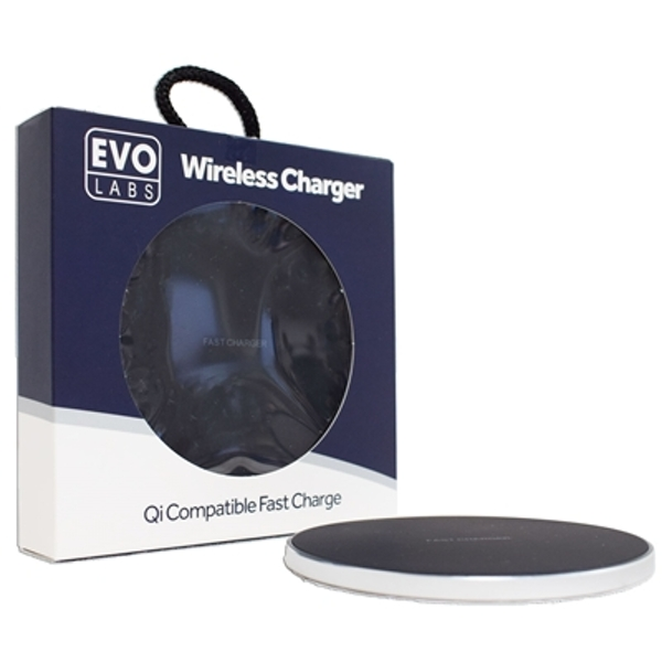 TARGET Universal Fast Charging QI Wireless Charging Pad Silver