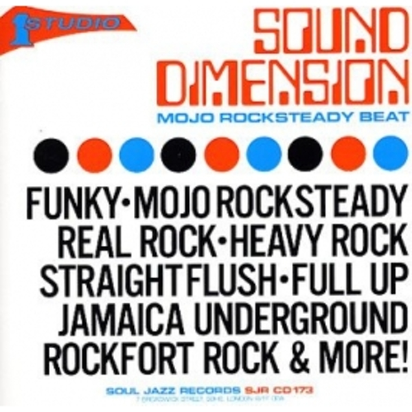 Soul Jazz Presents - Mojo Rocksteady Beat CD