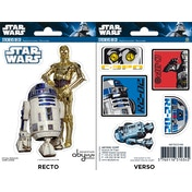 Star Wars - R2-D2/ C3PO Mini Stickers