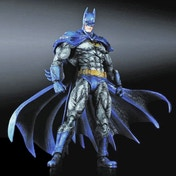 Square Enix DC Batman Arkham City Play Arts Kai Batman 1970s Batsuit Skin Action Figure