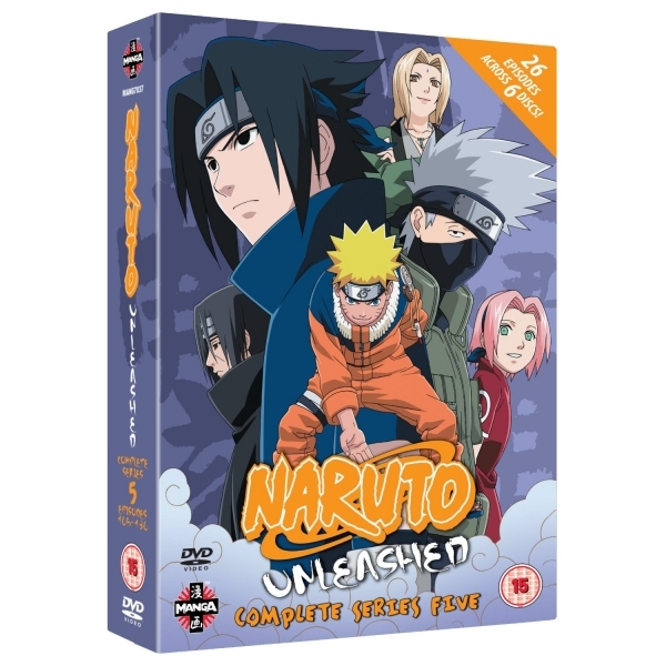 Naruto Unleashed Complete Series 5 DVD