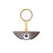 Warhammer 40K - Space Marines Icon Unisex Pendant With Chain Keyring - Multi-Colour