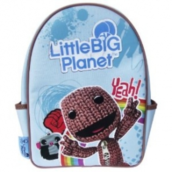 Little Big Planet Blue SackBoy Back Pack