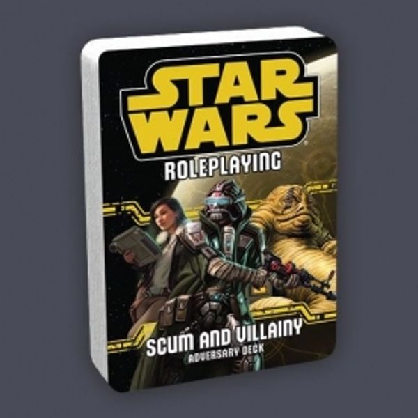 Star Wars Roleplaying Scum and Villainy Adversary Deck