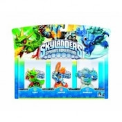 Camo, Warnado, and Ignitor (Skylanders Spyro's Adventure) Triple Character Pack H
