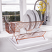 Rose Gold Folding Wire Drainer | M&W - Image 2