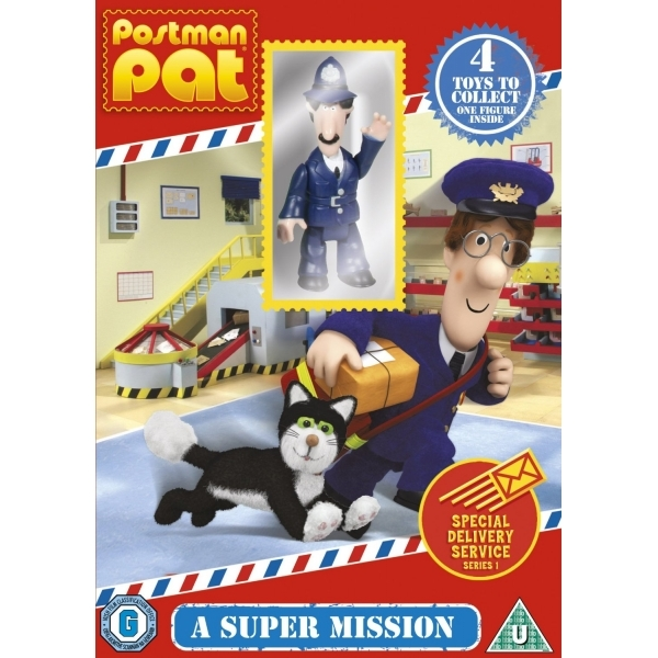 Postman Pat - Special Delivery Service - A Super Mission DVD
