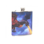 Fire in the Sky Hip Flask 7oz