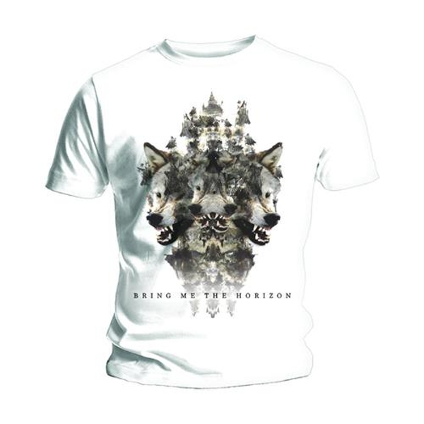 Bring Me The Horizon - Wolven Version 2 Unisex XX-Large T-Shirt - White