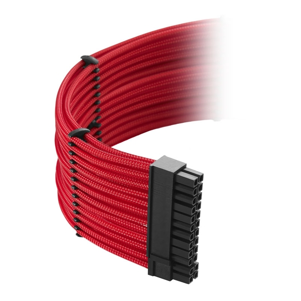 CableMod Classic ModMesh C-Series Cable Kit Corsair AXi HXi & RM (Yellow Label) - Red