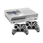 Official Tottenham Hotspur FC Xbox One S Console Skin and 2x Controller Skin Combo Pack