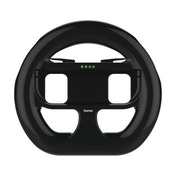 Hama XXL Steering Wheel for Nintendo Switch, set of 2, black