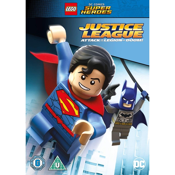 Lego: Justice League - Attack of the Legion of Doom DVD