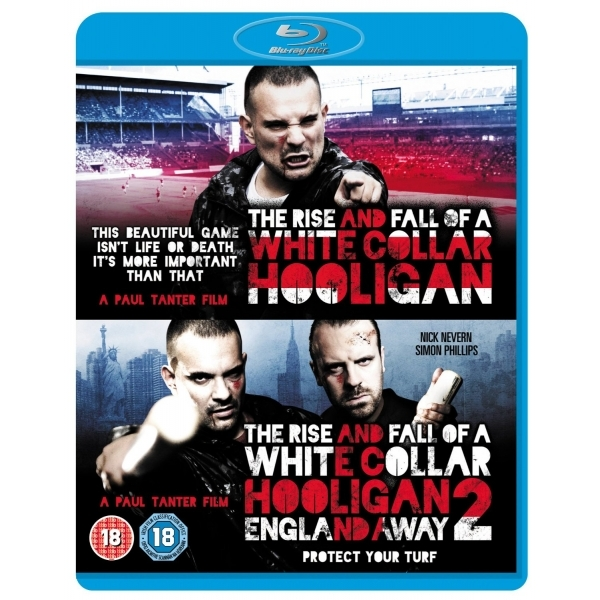 The Rise And Fall Of A White Collar Hooligan 1 & 2 Blu-ray