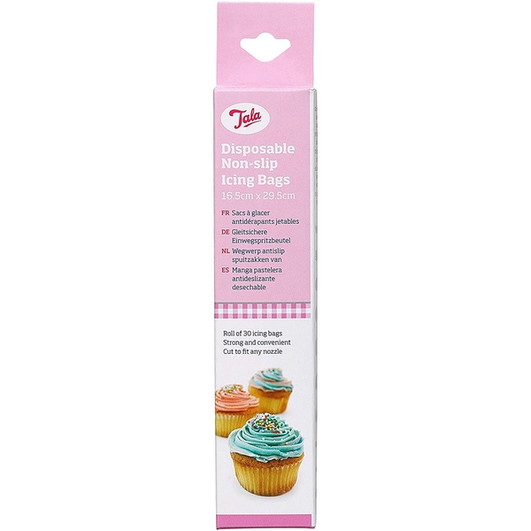 Tala Non Slip Icing Bags Disposable 30 Bags