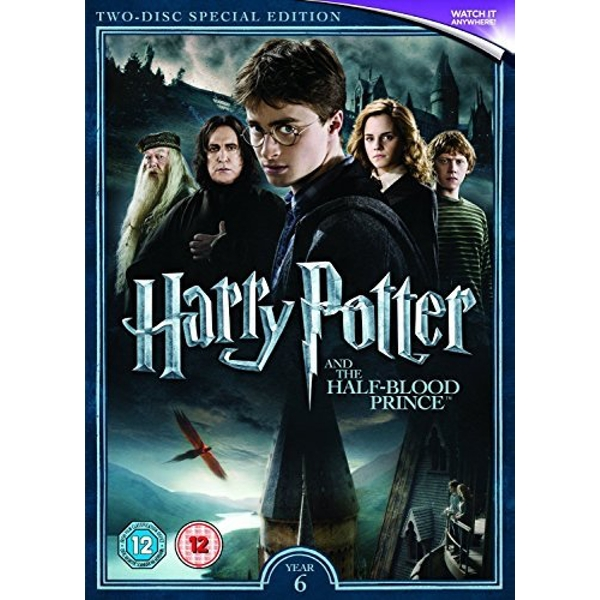Harry Potter and the Half Blood Prince (2016 Edition) DVD