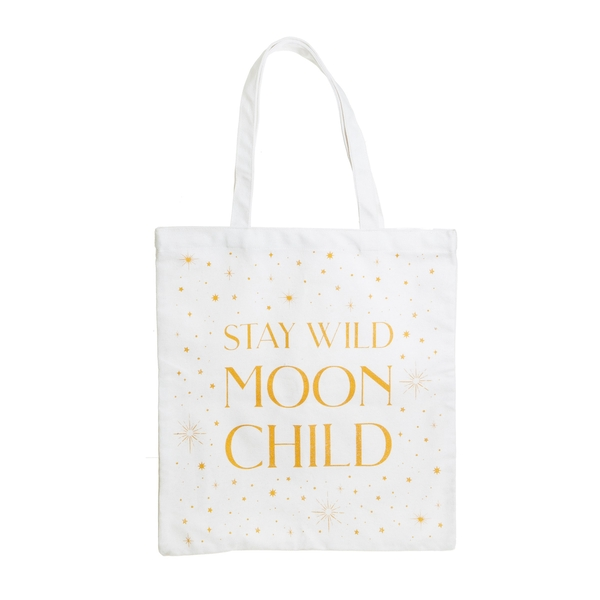 Sass & Belle Celestial Moon Child Tote Bag