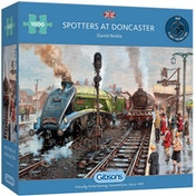 Spotters at Doncaster Jigsaw Puzzle - 1000 Pieces