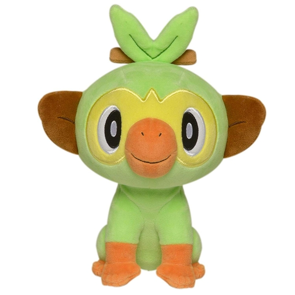 Pokemon 8 Inch Plush - Grookey - Image 1