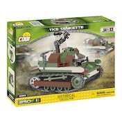 Cobi Small Army World War II TKS TANKETTE Tank - 250 Toy Building Bricks
