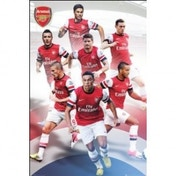 Arsenal Players 12/13 Maxi Poster