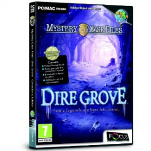 Mystery Case Files Dire Grove Collector's Edition Game PC