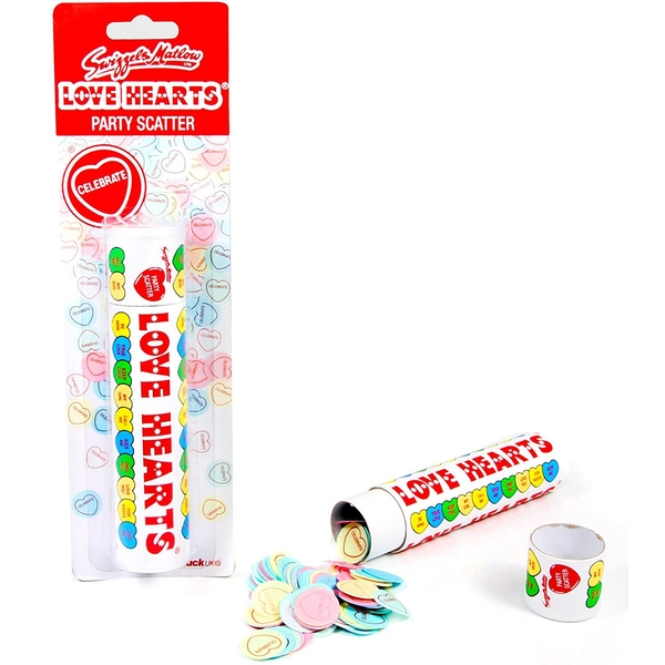 Love Hearts Party Scatter Confetti
