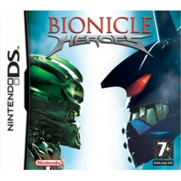Bionicle Heroes Game DS