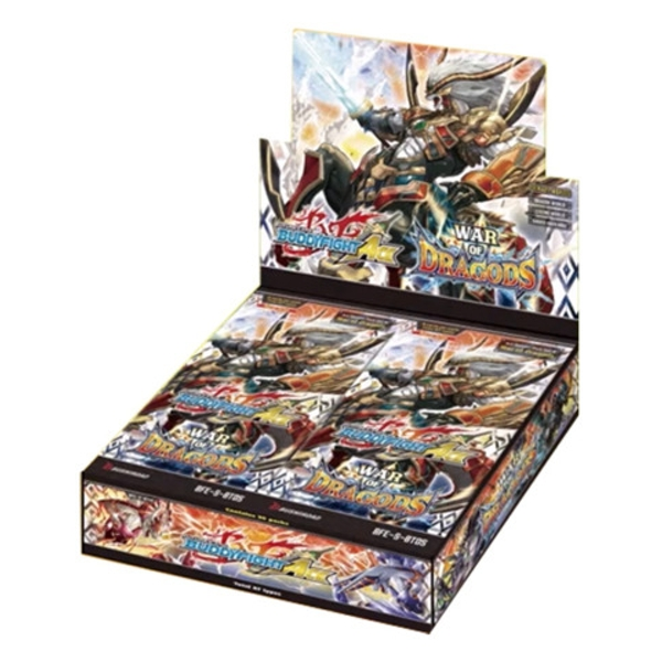 BFE Future Card Buddyfight Ace Booster Pack Vol 5. War of Dragods (30 Packs) - Image 1