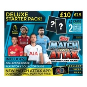 Ex-Display EPL Match Attax 2018/19 Deluxe Starter Pack Used - Like New