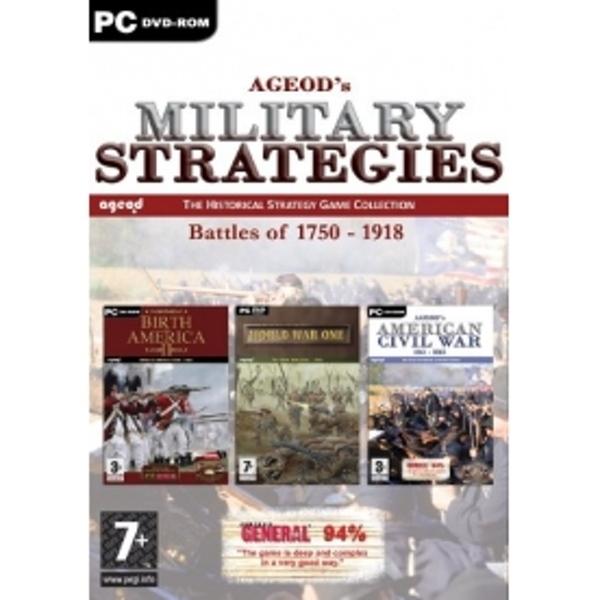 Ageod Strategy Collection Battles of 1750-1918 Game PC