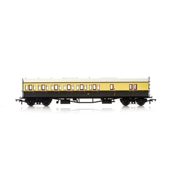 Hornby GWR Collett 57' Bow Ended 5503 D98 Six Compartment Brake Third (Left Hand) Era 3 Model Train