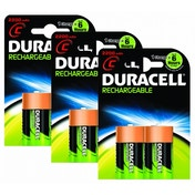 Duracell Rechargeable C Size 6 Pack
