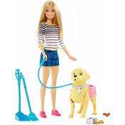 Barbie Walk and Potty Pup Pet Doll