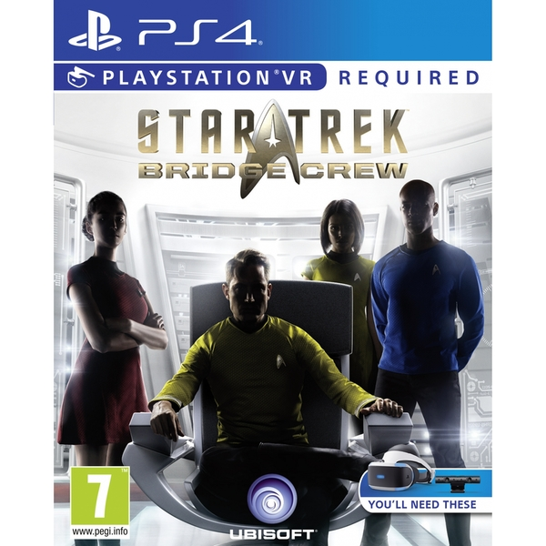 Star Trek Bridge Crew PS4 Game (PSVR Required)