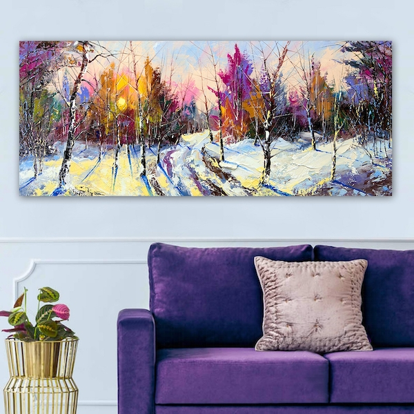 YTY654178_50120 Multicolor Decorative Canvas Painting