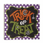 Trick And Treat Sign by Heaven Sends