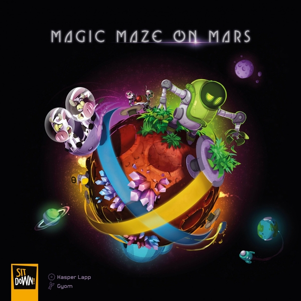 Magic Maze on Mars Board Game
