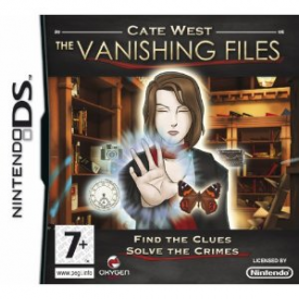 Cate West The Vanishing Files Game DS