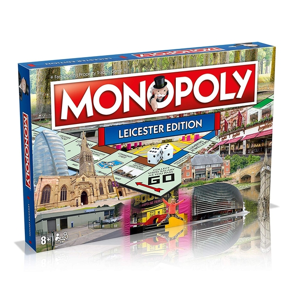 Leicester Monopoly Board Game