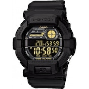 Casio GD350-1BER G-Shock Watch with LCD Negative Display Black