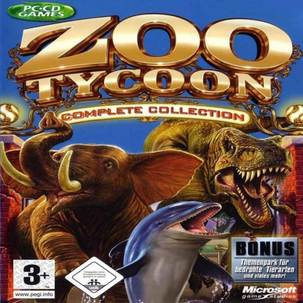 Zoo Tycoon Complete Collection Game PC