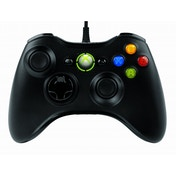 Microsoft Xbox 360 Wired Controller Black for Windows PC