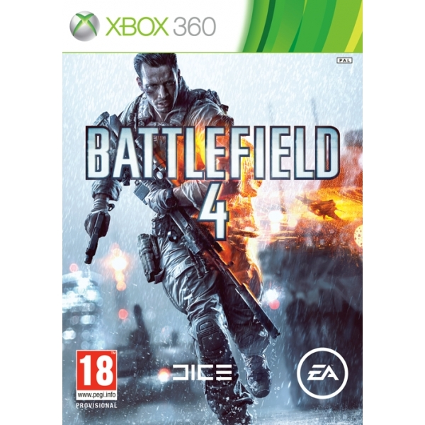Battlefield 4 Game + China Rising Expansion Pack DLC Xbox 360