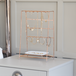 Rose Gold Jewellery Stand with Ceramic Dish | M&W - Image 2